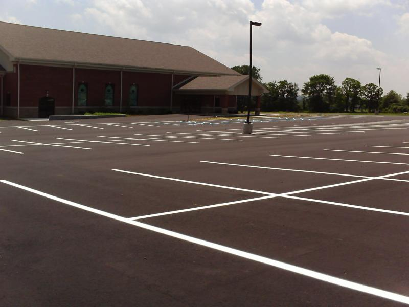 New Parking Lot
