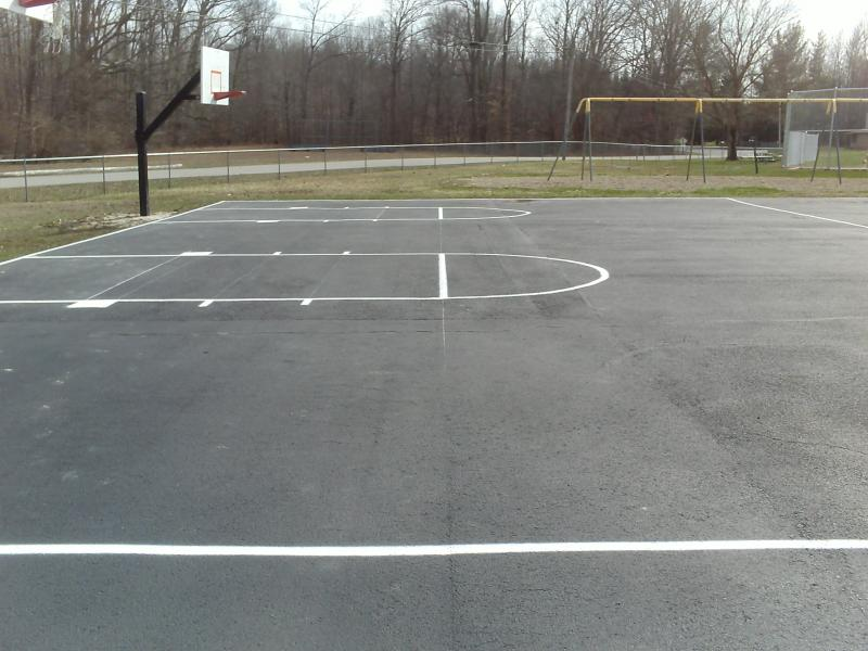 Basketball Striping
