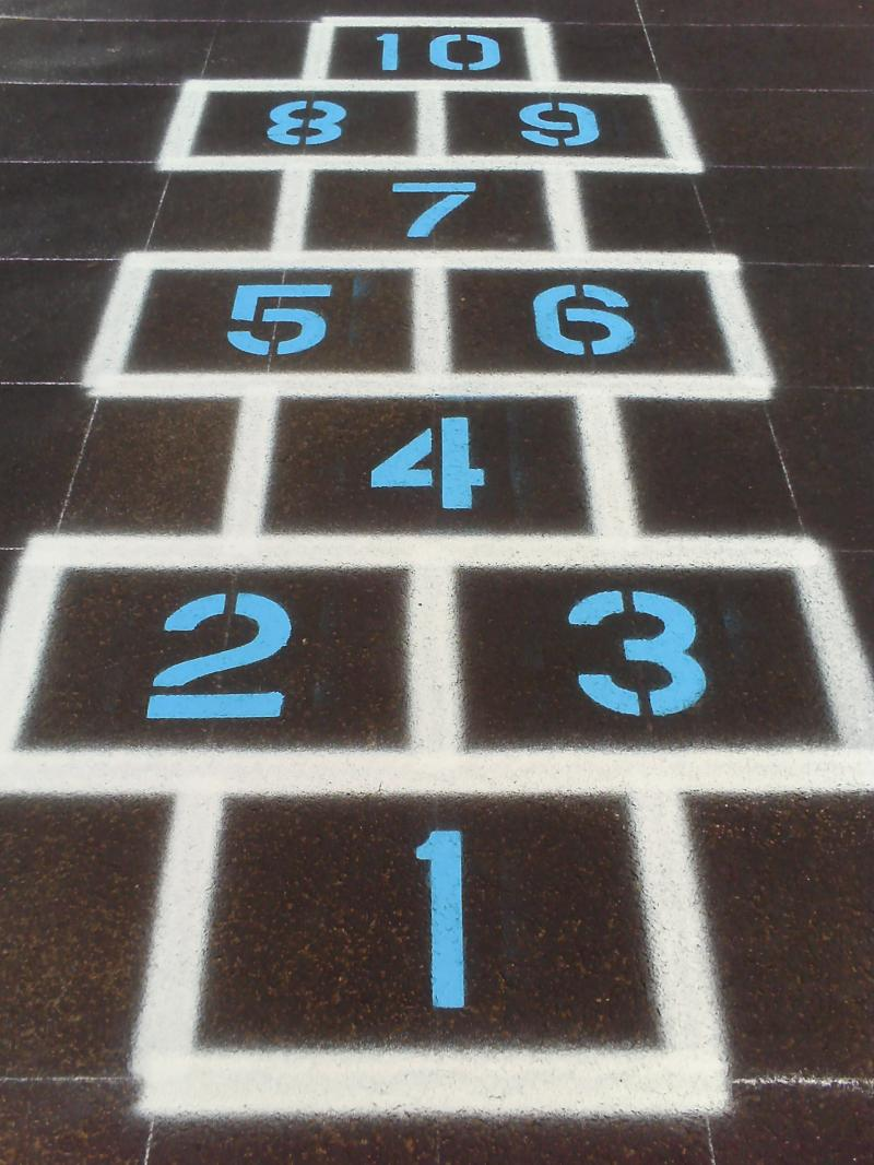 Hopscotch Striping
